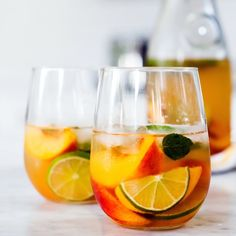 Ginger Peach Sangria Recipe on Yummly. @yummly #recipe