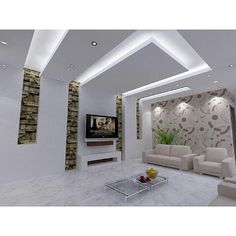 False Ceiling Living Room With Chandelier false ceiling design rustic.False Ceiling Design For Hall. House Design, Tv Wall Design, False Ceiling Design, Living Room Ceiling, Home Interior Design, Ceiling Design Modern, Ceiling Light Design, Living Design, Living Room Designs