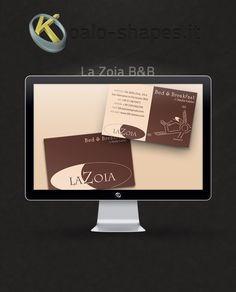 La Zoia #Business #Card by Koalo Shapes - La Zoia B is a bed and breakfast near Bologna.