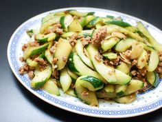 Exposed to a wok's intense heat, cucumbers become silky smooth with a juicy, meaty bite. Here's a quick and easy recipe that pairs cucumbers with spicy ground pork.