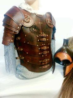 Legio LARP Leather Body Armour DIY Kit order online with larp-fashion.co.uk