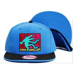 "Keith Haring ""Wolf Dance"" Snapback Hat Collection at fusionswag.com #KeithHaring #fusionswag #snapback #hats #streetwear #streetfashion #urbanwear"