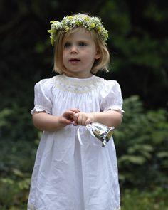 Give little kids bells at wedding