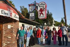 "SCGSGenealogical Society Blog. Following the April meeting of the SCGS German Interest Group, held at the SCGS Library in Burbank, several enthusiastic members of the group went for an ""evening out"" at the nearby Red Lion Tavern in Los Angeles."