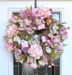 Spring Wreath  Every Day Wreath  Spring by DecoDecorByPatina