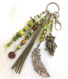 New crochet keychain lanyard key fobs Ideas Boot Jewelry, Leather Jewelry, Beaded Jewelry, Jewelry Accessories, Handmade Jewelry Designs, Handcrafted Jewelry, Crochet Keychain, Beaded Purses, Key Fobs