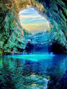 Sun-Lake of Greece.