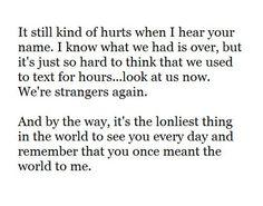Hut love quote break up sad relationship boyfriend girlfriend