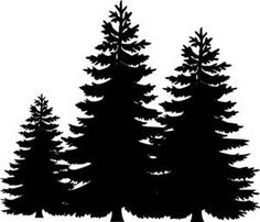 This is best Pine Tree Clipart Pine Tree Silhouette Clip Art for your project or presentation to use for personal or commersial. Pine Tree Silhouette, Forest Silhouette, Silhouette Clip Art, Silhouette Projects, Christmas Tree Silhouette, Mountain Silhouette, Silhouette Pictures, Flower Silhouette, Tree Clipart