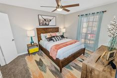 ReNew McKinney offers spacious 1 & 2-bedroom apartments for rent featuring Texas sized walk-in closets, a fireplace, private balcony, and washer and dryer connections. #ReNewMcKinney #TX #Apartments #IAmRenewed