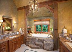 Homey Country/Rustic Bathroom by Lynette Zambon & Carol Merica on HomePortfolio