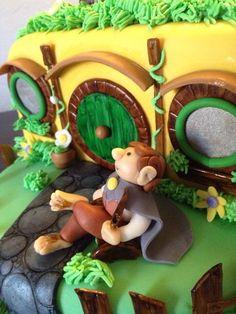 Hobbit Hole, The Hobbit, Cookies, Random, Desserts, Crafts, Food, Style, Fondant Flower Cake