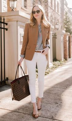 Spring work outfits, formal business attire и business casual outfits. Stylish Work Outfits, Spring Work Outfits, Office Outfits, Work Casual, Office Wear, Casual Summer, Office Attire, Classy Outfits, Classy Casual
