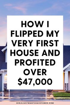 This blog post will explain how I flipped my first house and profited over $47,000. It includes details, step by step processes, tips, and my net profit settlement statement. #realestate #flippinghouses #netprofits Boss Babe, Girl Boss, Moving To Another State, Planning A Move, Exclusive Homes, Selling Your House, Real Estate Tips, Home Ownership