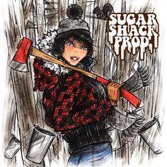 spring fashion illustration / sugar shack / countrysde fashion Spring Fashion, Sugar, Style Inspiration, Illustrations, Anime, Movies, Poster, Fashion Spring, 2016 Movies