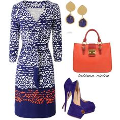 A fashion look from February 2013 featuring Diane Von Furstenberg dresses, Giuseppe Zanotti pumps and Miu Miu handbags. Browse and shop related looks.