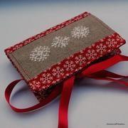 Snowflake cross stitch