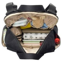 206dba1d948 Babymel Robyn Diaper Bag - Black Convertible Diaper Bag