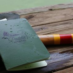 Mollyjogger x Rite in the Rain Paddle Journal
