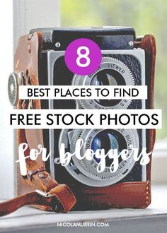 A couple of weeks ago I wrote a post about the best places to find free fonts online, so this week I thought I'd show you where to find the best free stock photos to use on your blog