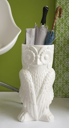 Owl Umbrella Stand @Becca Davis @Rachel Buckley