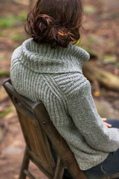 Oshima Cowl Neck Pullover Pattern by Jared Flood. Another impeccable pattern from Designer Extraordinaire: Jared Flood