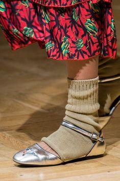 Le scarpe in diretta dalla Parigi Fashion Week Autunno Inverno 2017-2018