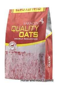 Saracen Quality Oats 20kg Saracen Quality Oats are a top quality straight feeding stuff that has been double recleaned dust extracted produced at their UFAS accredited mill.