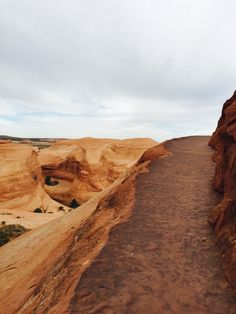 Hike to Delicate Arch. Moab Utah