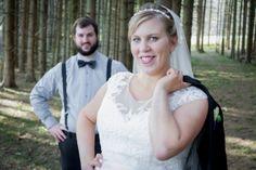 Wedding Photography - Bride and Groom Rustic