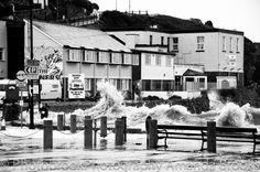 perranporth beach storm damage