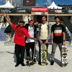 Manny Santiago, pRod, Mikey Taylor, and Chris Cole