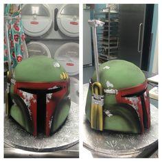 Boba Fett Cake cakepins.com