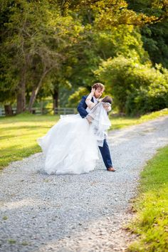 photo taken at the Barn at Tall Oaks in Hendersonville, NC Drama, Barn, Wedding Dresses, Beautiful, Style, Bride Dresses, Swag, Converted Barn, Bridal Gowns