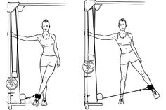 Lateral moves: strengthen the muscles of your hips in every direction they were designed to move