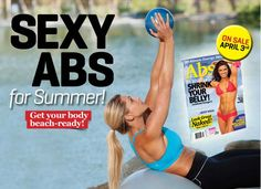 Great workouts and recipes in our Abs special issue!