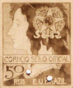SELO 50 REIS - Eliseu Visconti