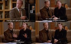 """""""Maris Crane, and Niles Crane, will be executed!"""""""