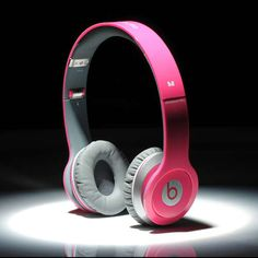 cheap monster beats by dre solo headphone hot pink