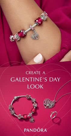 The perfect look for Galentine's Day awaits with the fun & playful styles in the NEW Valentine's Day Collection from PANDORA.