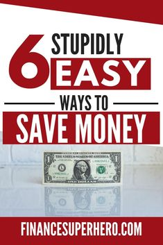 These 6 easy ways to save money are genius! They totally helped us cut our budget in ways we didn't think of before. Best Money Saving Tips, Money Tips, Saving Money, Money Savers, Investing Money, Save Money On Groceries, Ways To Save Money, How To Make Money, Budget Planer