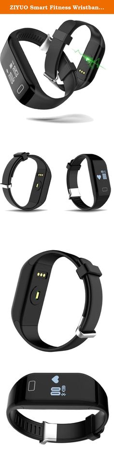 ZIYUO Smart Fitness Wristband Bluetooth Smart Bracelet Pedometer Heart Rate Monitor waterpoof Sports Wristband (Black). Features: Battery:110mah Charger time: 1-2 hours Standby time: if turn off bluetooth and heart rate, standby5 days, if turn on bluetooth and heart rate test,the battery just can use about 2-3 hours. Please use wall charger to charge it,not on computer. When you charge it, please clip the charger in right place. Top waterpoof reach IP67 Most-accurate heart rate monitor…