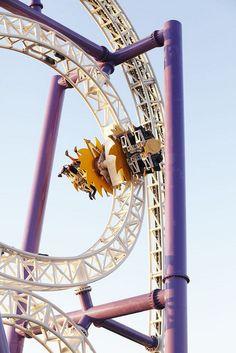 Insane - roller coaster at Grona Lund, Stockholm
