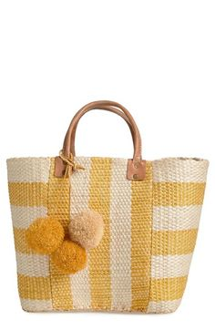Mar y Sol 'Collins' Woven Tote available at #Nordstrom