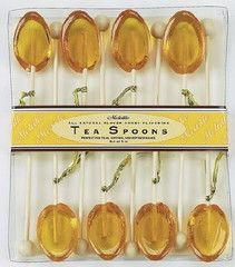 8 Pack of Clover Honey Flavored Tea Spoons - Flavored Tea Spoons - Roses And Teacups