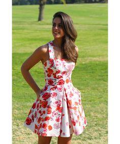 vestidos cortos de flores 2015 - Buscar con Google