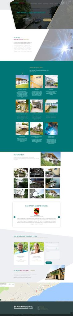 Schmid Metallbau Twann - WordPress Webdesign & E-Commerce Biel Web Design, Ecommerce, Wordpress, Website, Advertising, Design Web, E Commerce, Website Designs, Site Design
