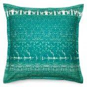 Turquoise Tie-Dye Cushion