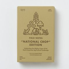 national crop edition / field notes.