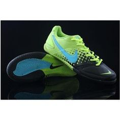 Cheap Nike5 Mens Indoor Soccer Elastico Pro Indoor Boots In Green Blueout of stock